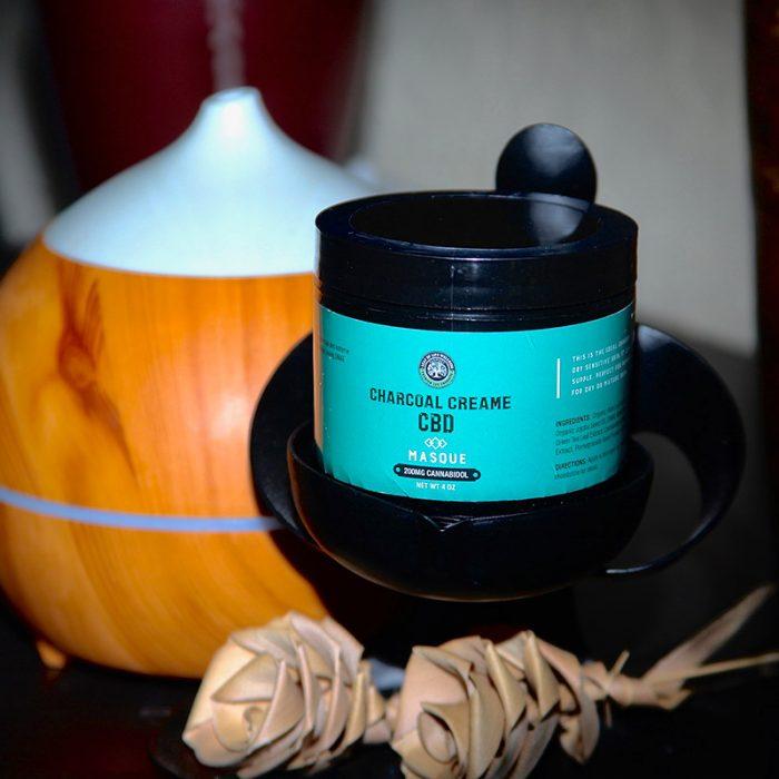 Leaf of Life Wellness Charcoal Cream CBD Masque - 2oz