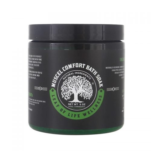 Leaf of Life Wellness Muscle Comfort CBD Bath Soak