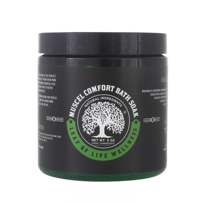 Leaf of Life Wellness Muscle Comfort CBD Bath Soak