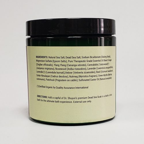 Dr. Shuyun Ancient CBD Dead Sea Soak