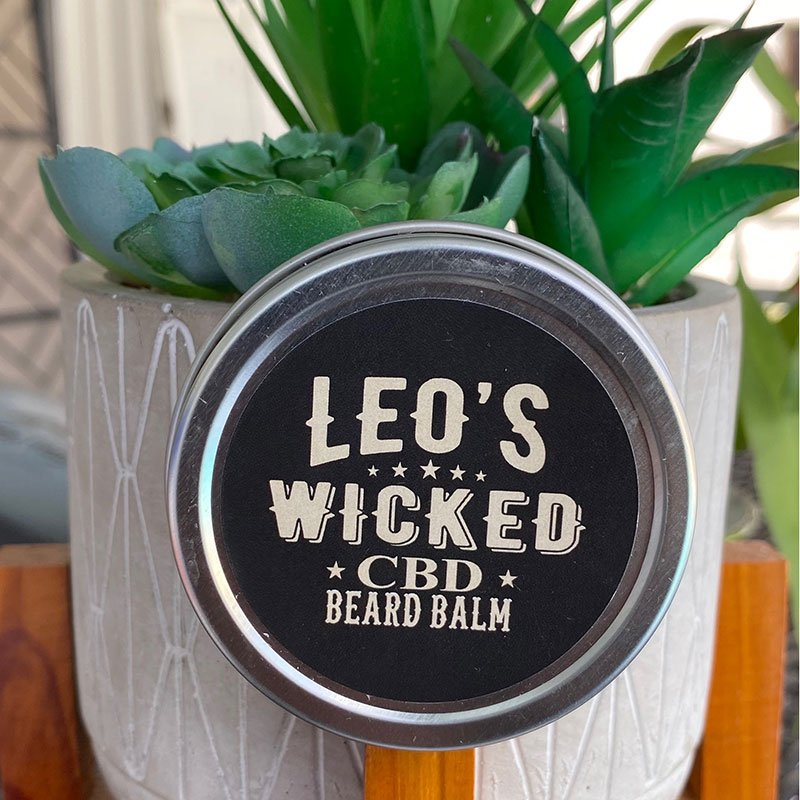 Leo's Wicked CBD Beard Balm