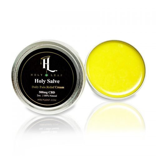 Holy Leaf Sports Salve - 500mg