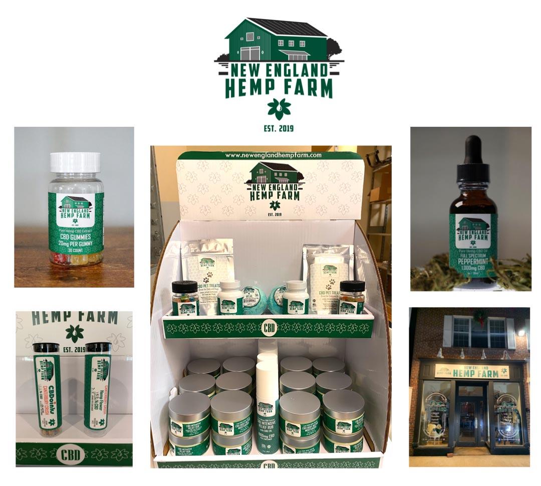 New England Hemp Farm products